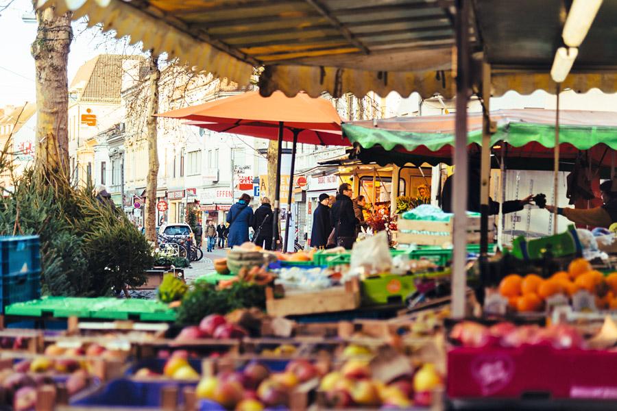 Ziegenmarkt im Viertel Bremen, Foto: Jonas Ginter