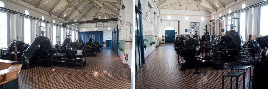 """Die """"heilige Halle"""" misst insgesamt 560 Quadratmeter. Neben den Konzerten und Führungen werden hier auch Seminare und Tagungen vom Gebäudeinhaber Hansewasser abgehalten."""