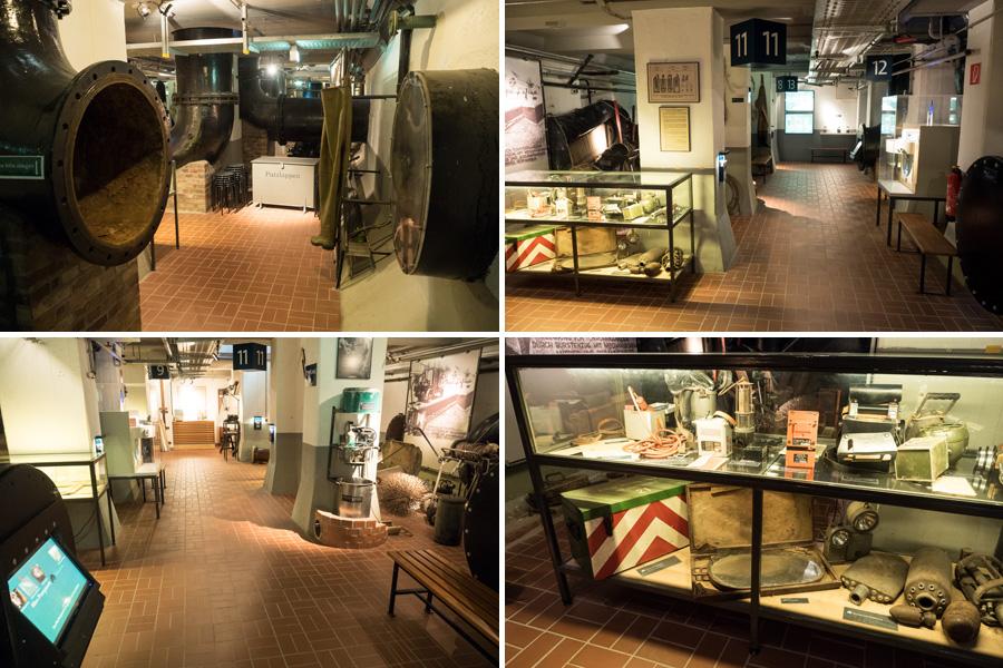 Im Keller ist ein Museum mit jeder Menge Anschauungsmaterial entstanden. Viele Vereinsmitglieder haben hier selbst Hand angelegt.