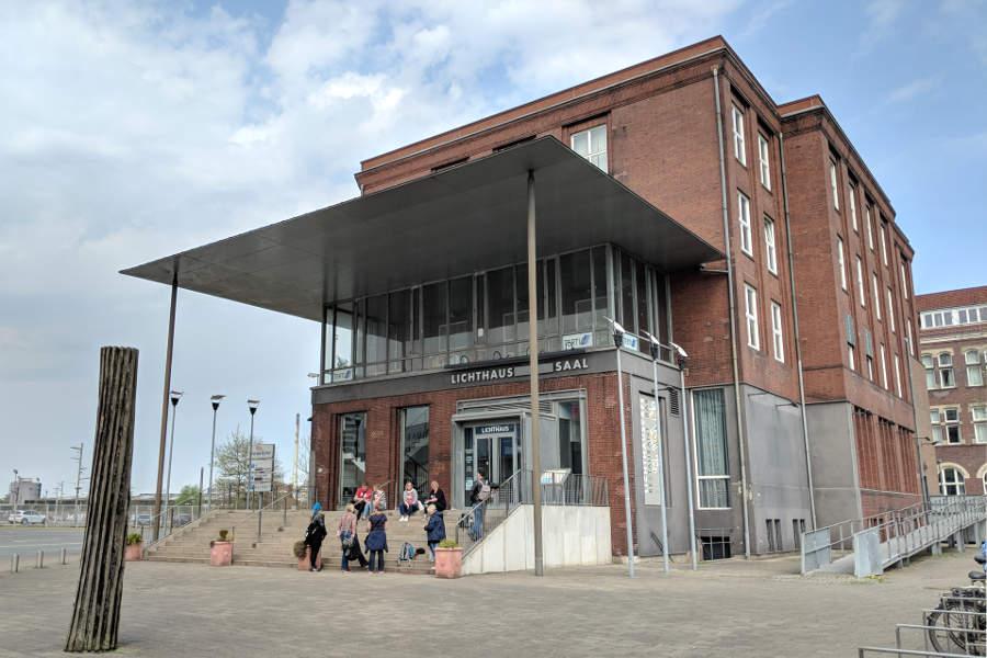 Das Lichthaus in Gröpelingen - architektonisches Schmuckstück im Bremer Westen