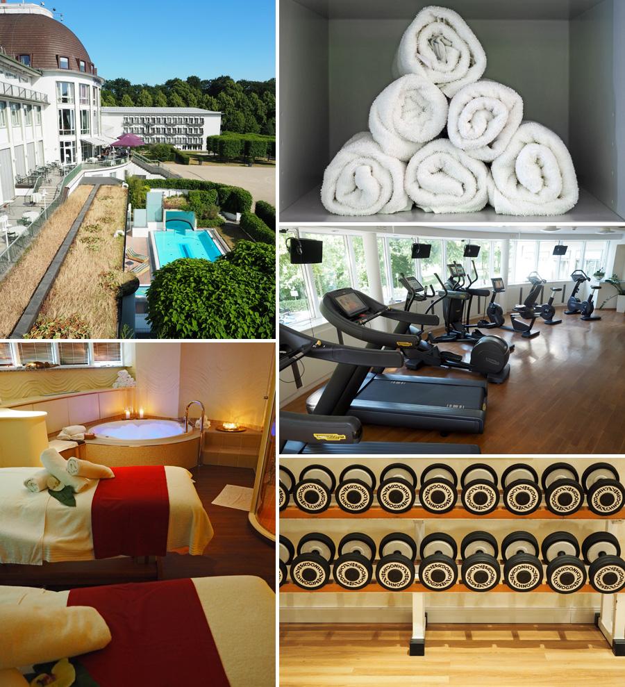 Entspannung pur: Sogar einen Pool hat das Hotel.