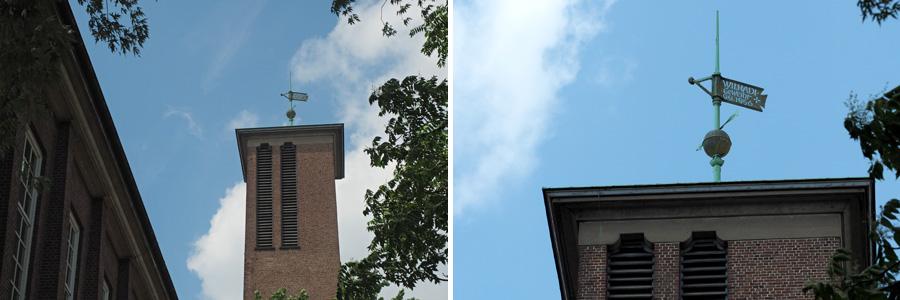 Die Wilhadi-Kirche stand einst an der Nordstraße. Heute ist sie am Steffensweg zu finden.