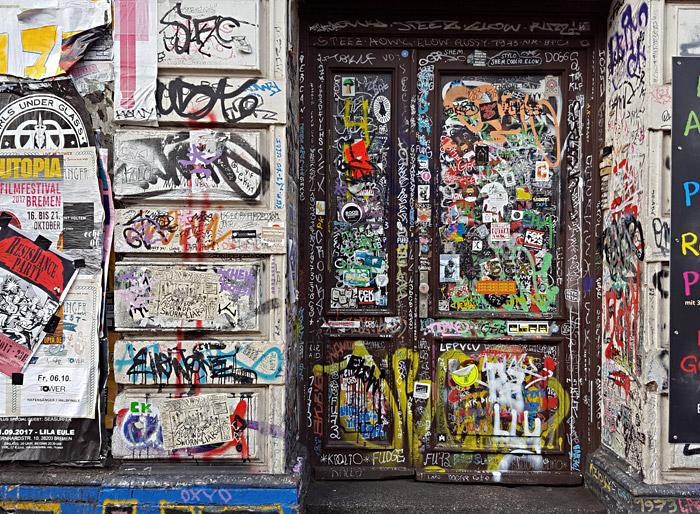 Die wohl am häufigsten fotografierte Tür Bremens