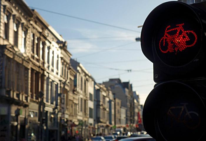 Radfahren in Viertel - das ist für Fortgeschrittene
