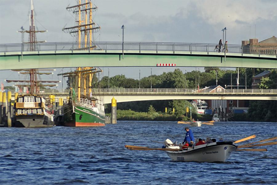 Kutterpullen auf der Weser