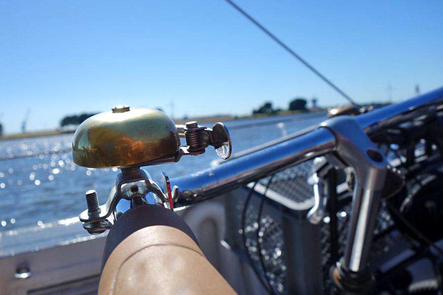Eine Tour mit dem Schiff, eine mit dem Fahrrad ...