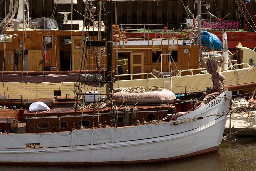 Boote im Museumshaven, Foto: Manuela Gangl