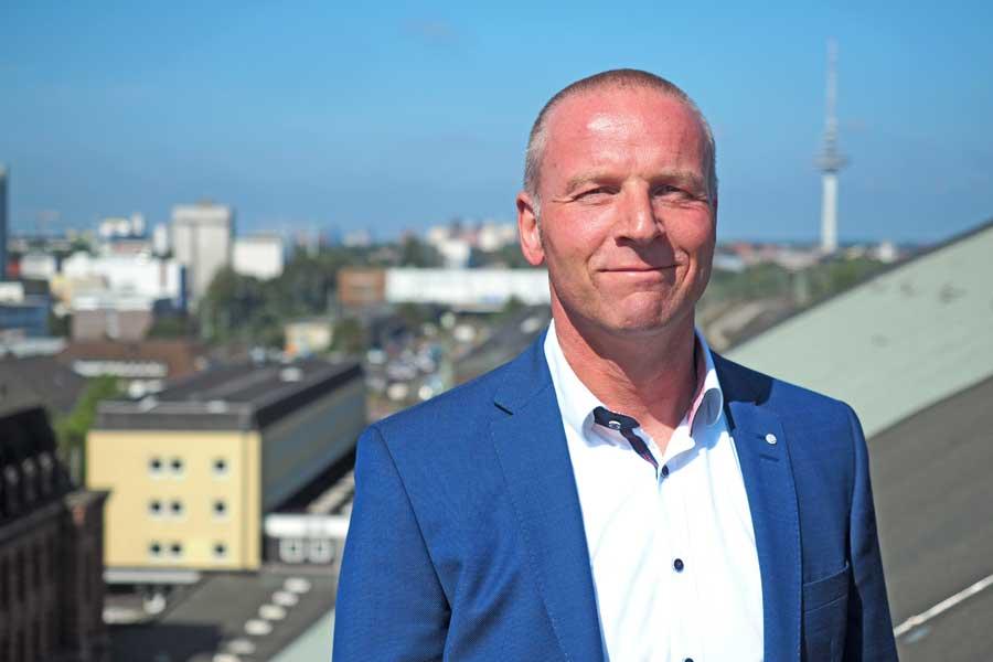 Heiko Siemers - seit Februar 2018 ist er Bahnhofsmanager in Bremen