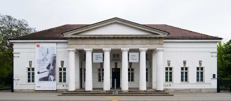 Einst Wach- und Gefangenenhaus, heute Verwaltung des Wagenfeld-Nachlasses und Museum für Design. Foto: Jens Weyers, Bremen