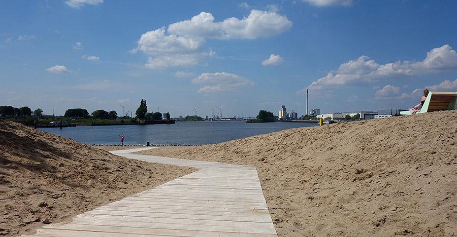 Spazier-Wege durch den Sand