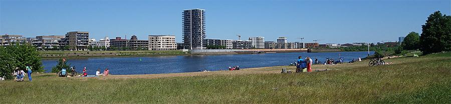 Strand im Weseruferpark Rablinghausen