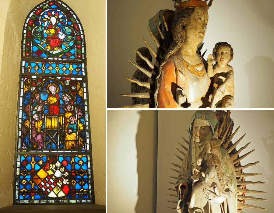 Im gotischen Raum finden sich mit die ältesten Exponate.