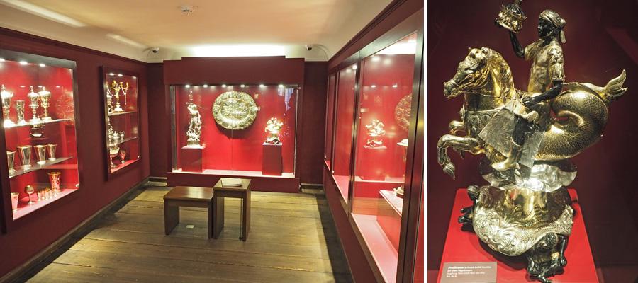 """Der Silberschatz wurde von der Bundesrepublik Deutschland als """"national wertvolles Kulturgut"""" eingestuft."""