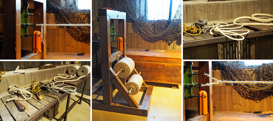 Das Seilern ging vor allem wegen der rauen Materialien für die Taue auf die Hände. Ein Beruf, der insgesamt sehr viel Erfahrung brauchte, um qualitativ hochwertige Ergebnisse zu bekommen.