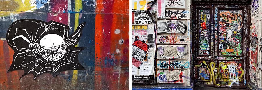 Streetart im Viertel