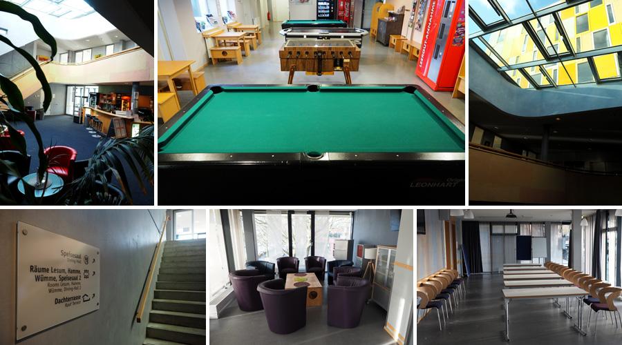 Jede Menge Raum für Gemeinschaftliches: Ob zum Spielen, Tagen oder gemütlichem Unterhalten - die Einrichtung bietet zahlreiche Möglichkeiten.