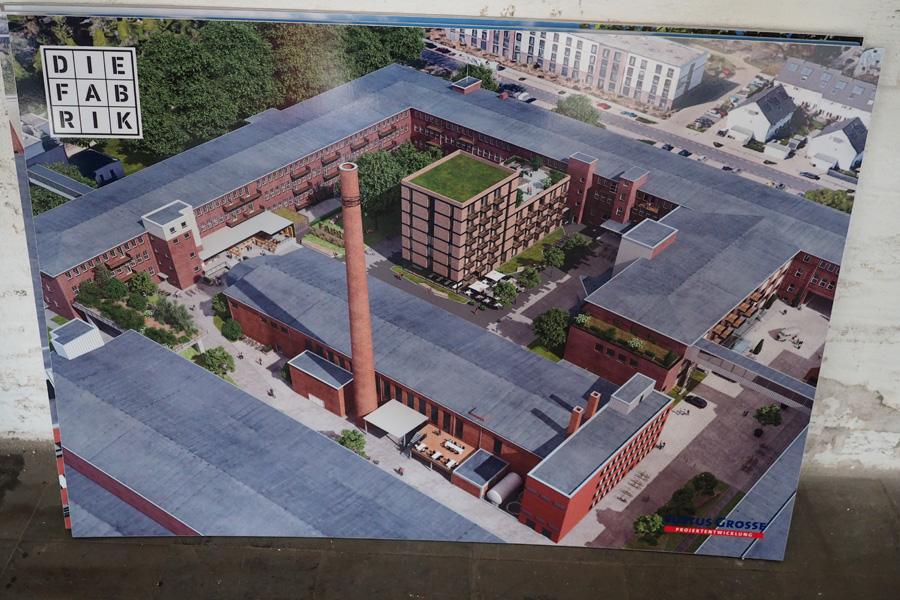 Die Vision: Alles begrünt, wenig Verkehr (dank geplanter Parkhäuser), ein Hotel, Gastronomien - so soll es irgendwann aussehen, das Tabakquartier.